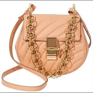 CHLOE Drew Bijou Cross Body Bag Gold Hardware